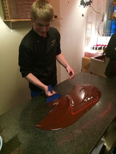 Making Chocolate at Bittersweet