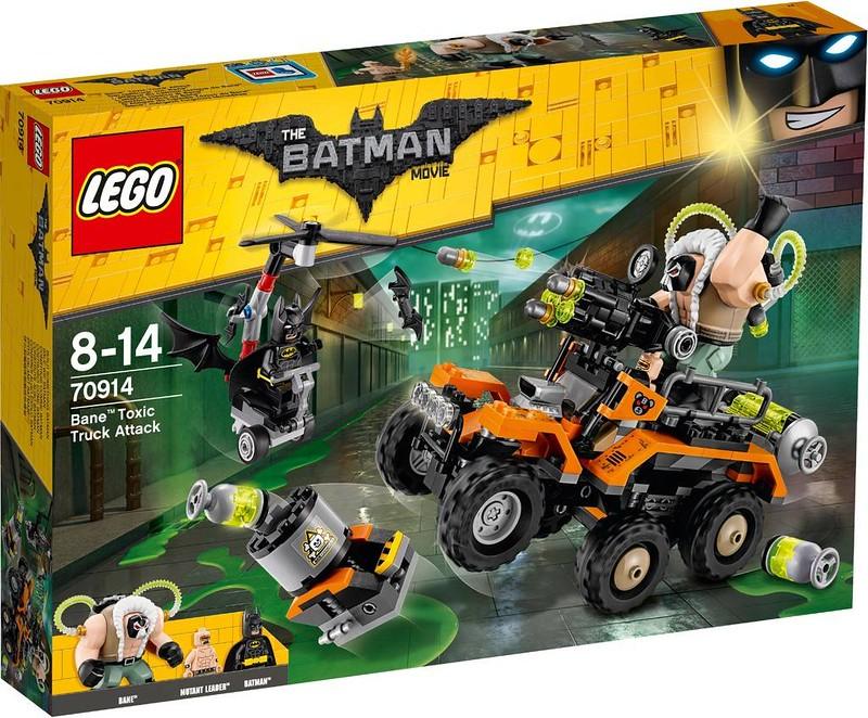 LEGO Batman Movie Set Estate 2017 - Bane Toxic Truck Attack (70914)