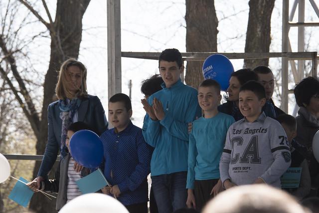 Ziua internationala de constientizare a Autismului - Tecuci - 2 aprilie 2017