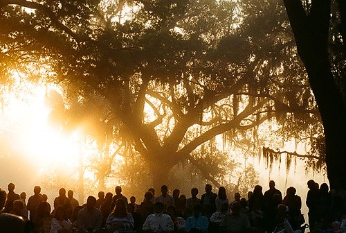Easter Sunrise Service at the Bok Tower Gardens