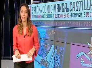 XI Salón del Cómic y Manga de Castilla y León. Rueda de Prensa en los medios.