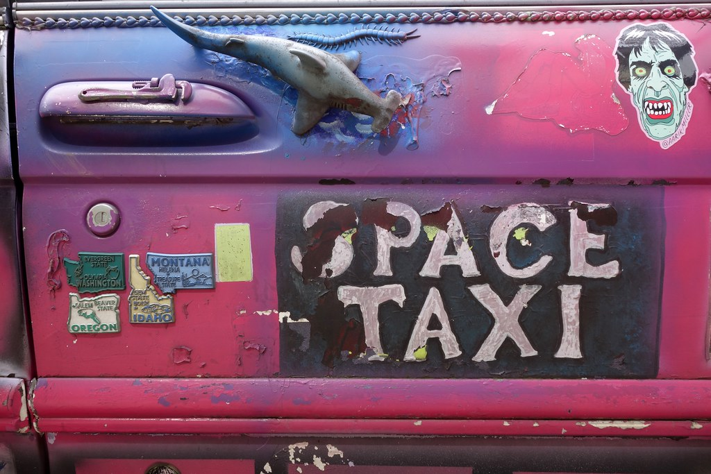 Space Taxi, Portland, Oregon