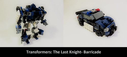 Lego Transformers The Last Knight- Barricade