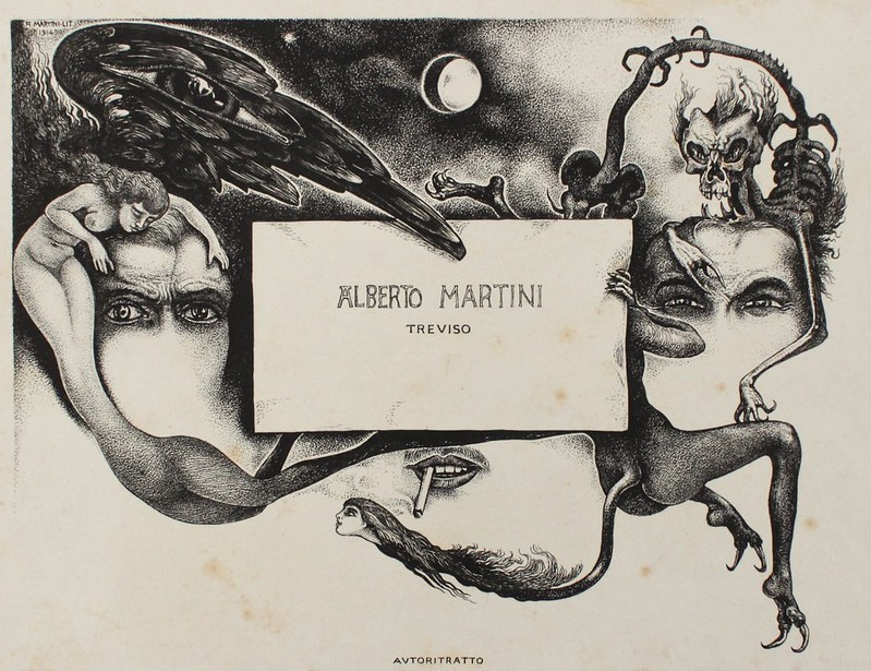 Alberto Martini - Traviso, 1914