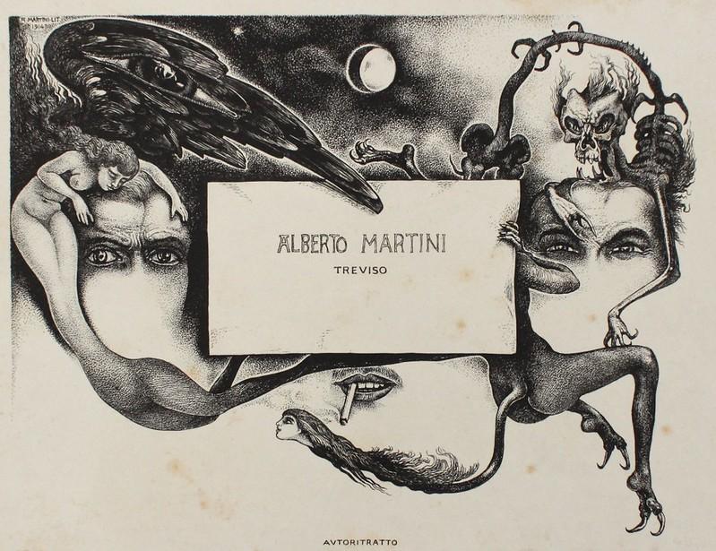 Alberto Martini - Traviso, 1914