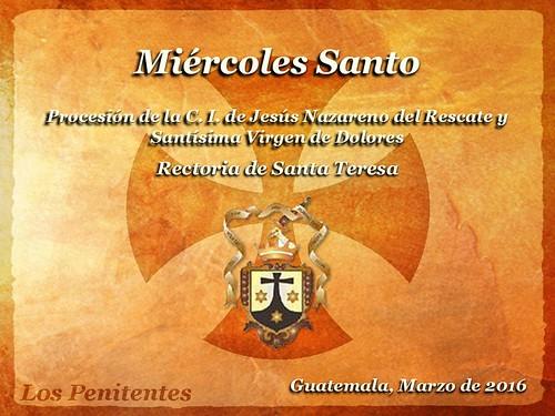 Miercoles Santo, Santa Teresa