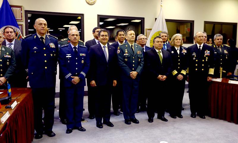 Presidente Hernández ante la JID
