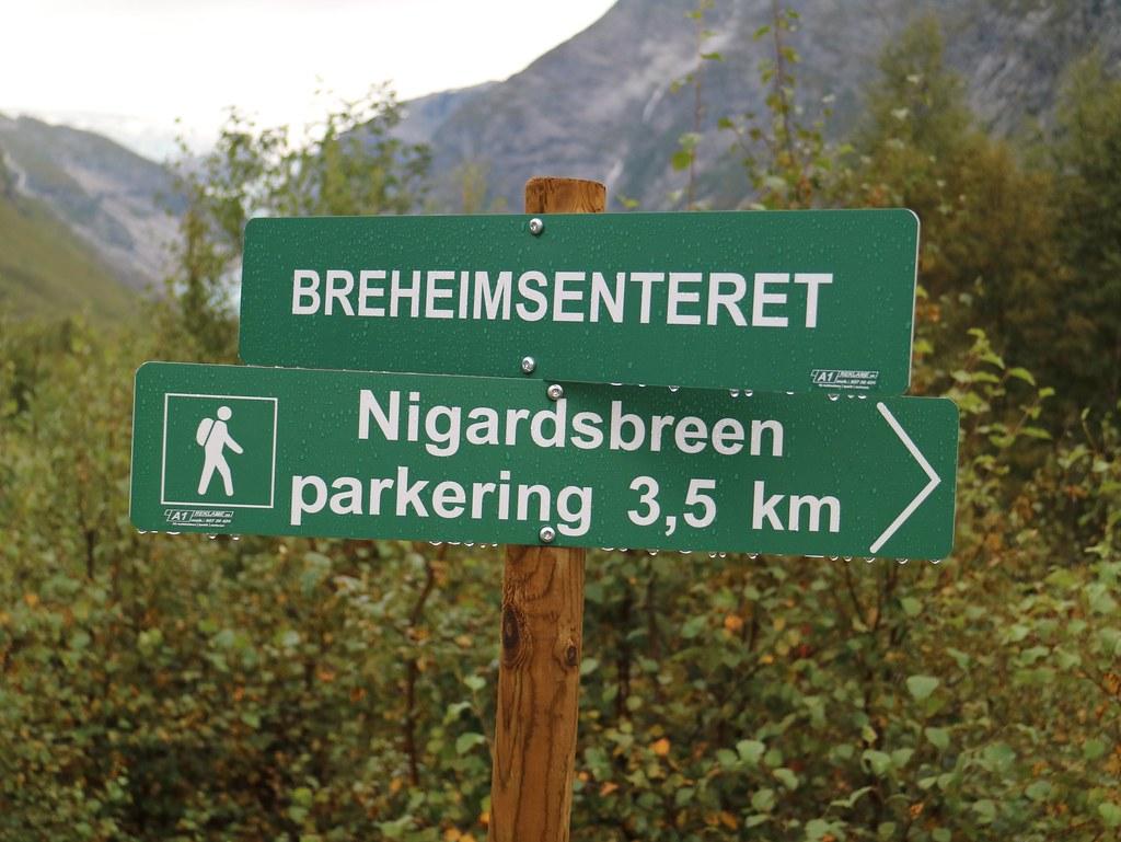 Camino a Nigardsbreen