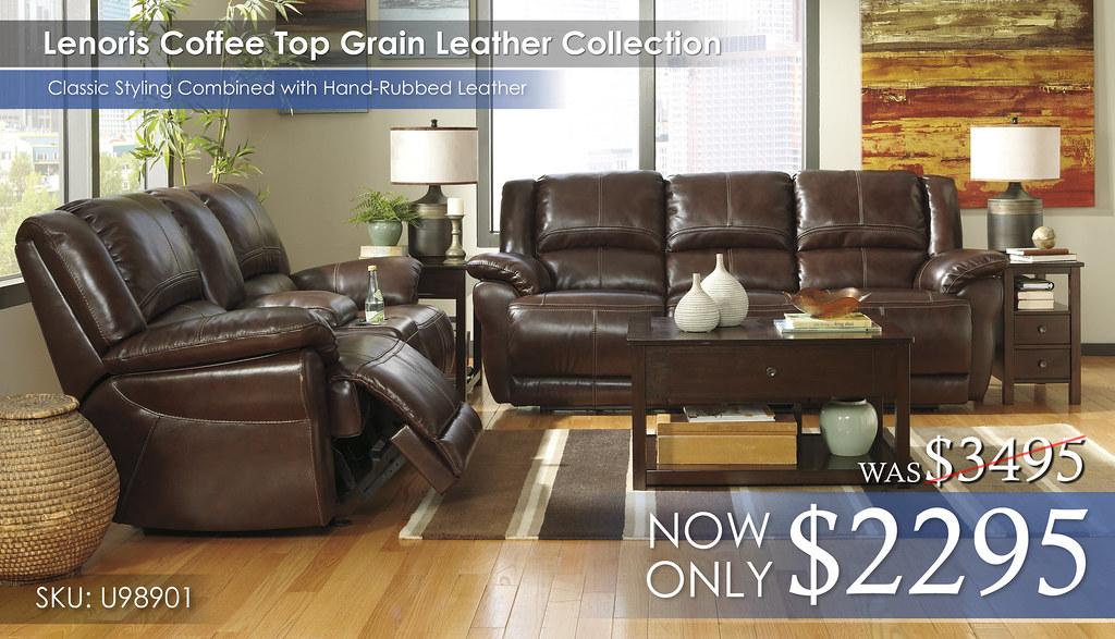 Lenoris Top Grain Leather Collection SPECIAL U98901-87-43-T477-OPEN
