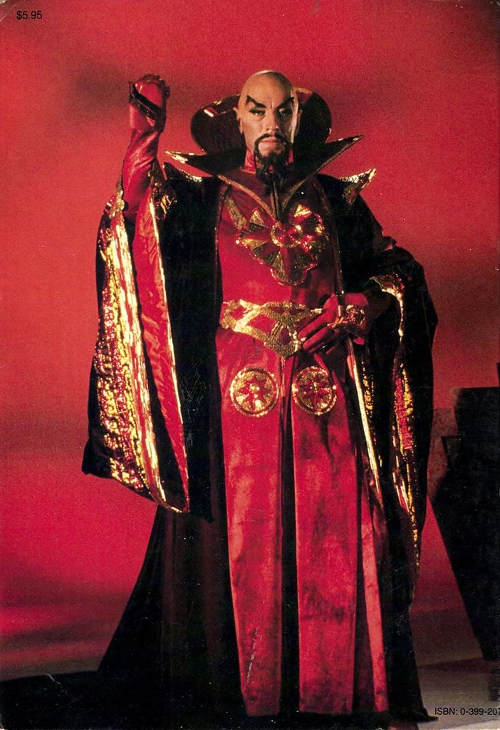 1980s Villains - Max von Sydow as Ming the Merciless from Flash Gordon (1980)