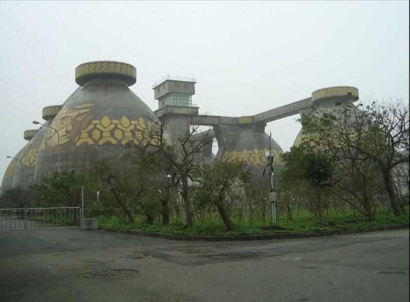 八里污水處理廠。照片來源:台北市政府工務局。