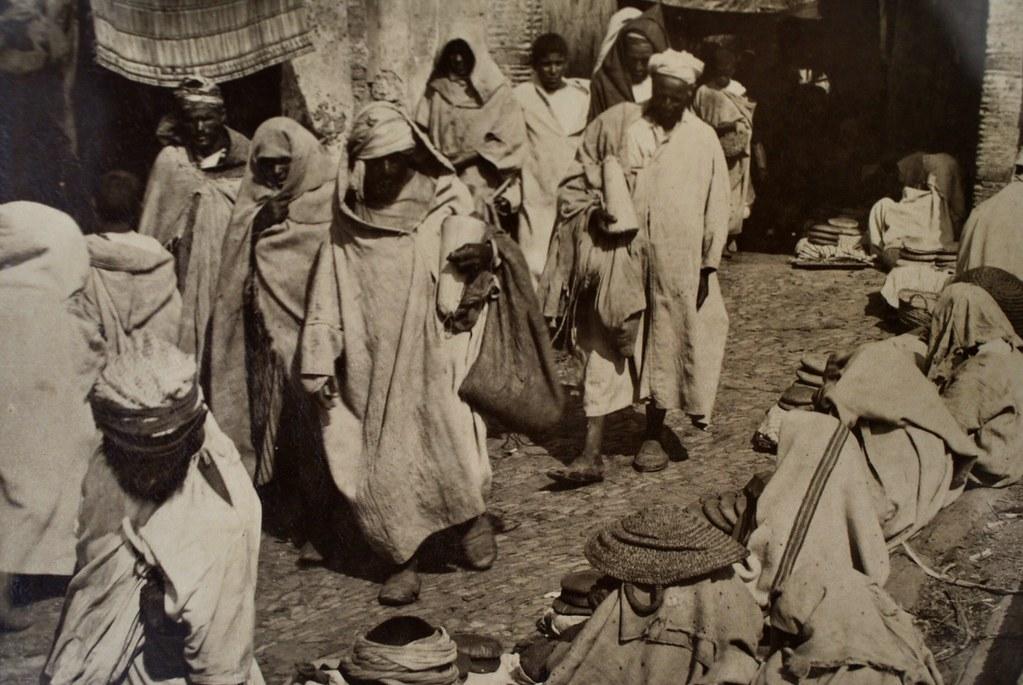 Photo de Gabriel Gillet à la Maison de la Photographie à Marrakech.