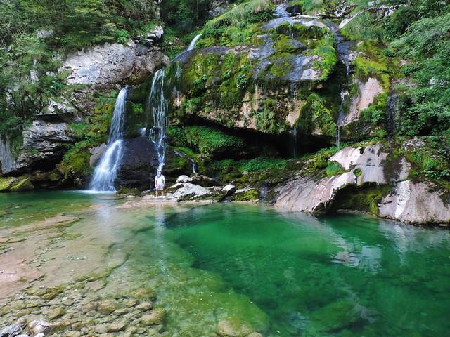Virje waterfall, Triglav, Slovenia