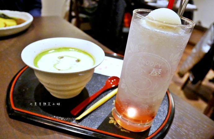 45 日本京都 錦市場 史努比茶屋 スヌーピー茶屋