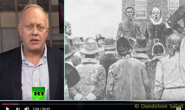 Chris Hedges: Confronting the Evil Within Us–The Twin Foundations of Genocide and Slavery