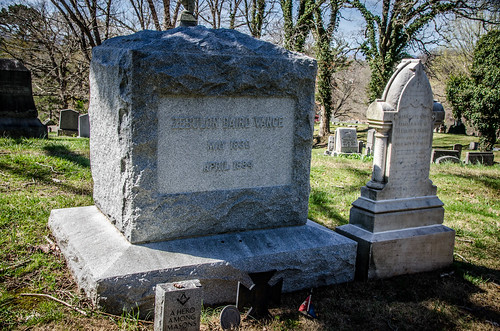 Zebulon Vance Grave