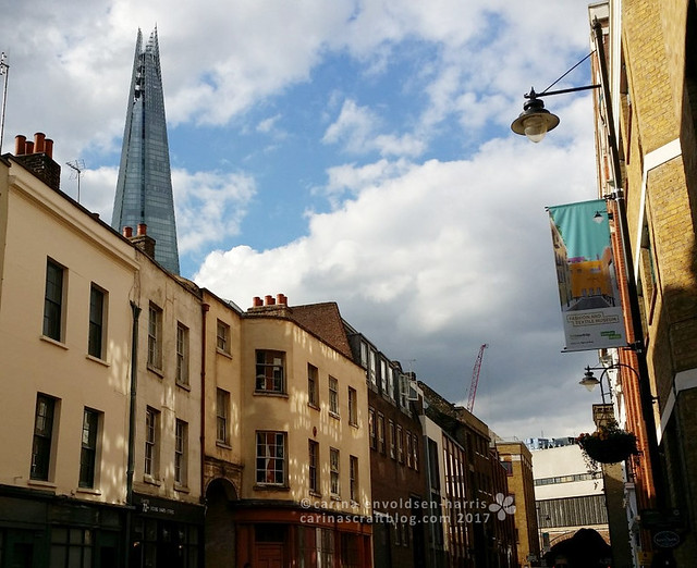 The Shard seen from Bermondsey Street