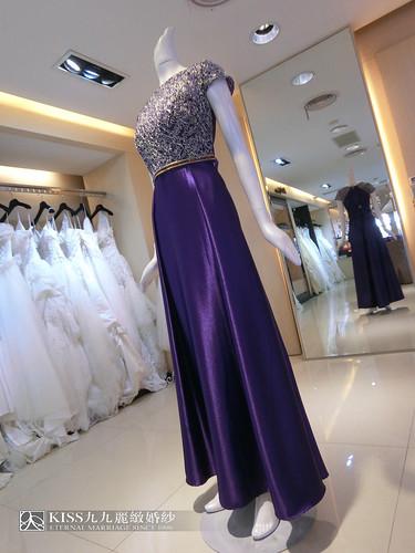 婚禮媽媽裝找高雄Kiss99就對了,變身婚禮最耀眼女配角的最佳幕後推手(18)緞面紫