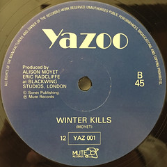 YAZOO:DON'T GO(LABEL SIDE-B)