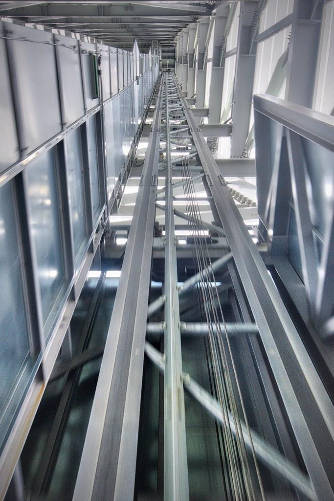 Elevator in Holmenkollbakken