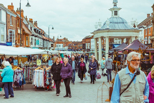 Beverley Saturday Market. Photo: © Chris Pepper