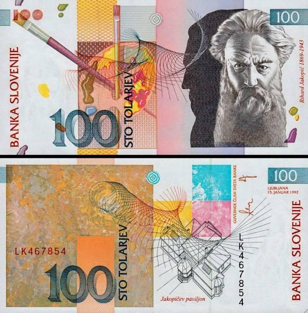 100 Toliarov Slovinsko 1992, P14a