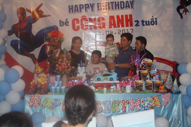 Tiệc sinh nhật bé Công Danh