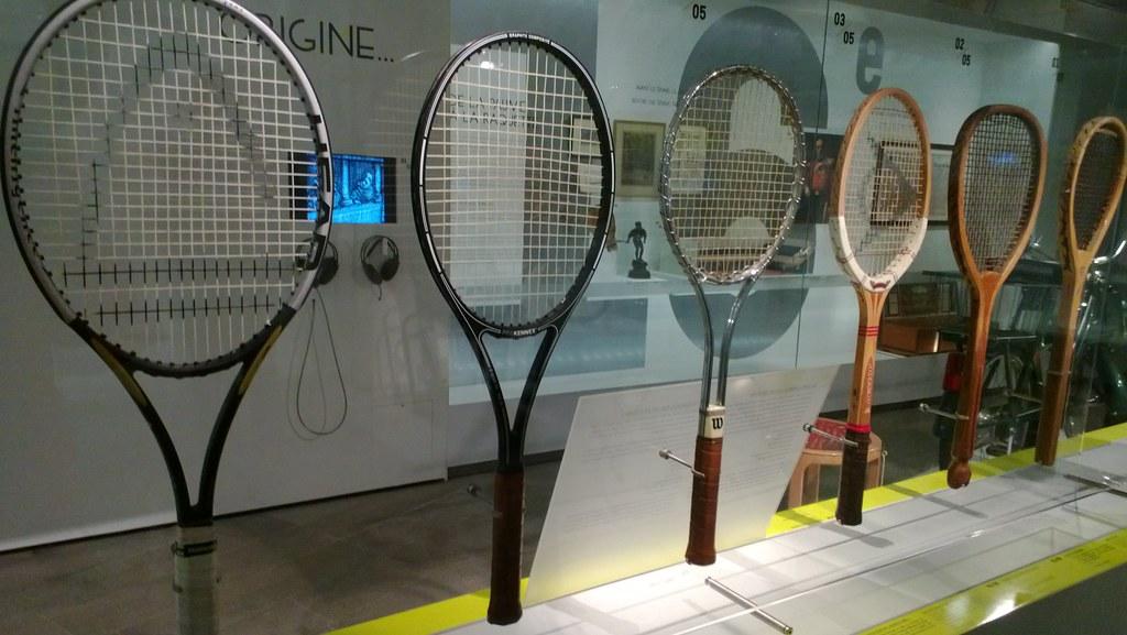 Acervo do Museu de Roland Garros em Paris