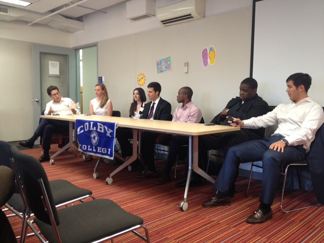 New York Colby Club Young Alumni Panel