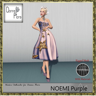 Noemi Donna Flora purple | by Tania Tebaldi