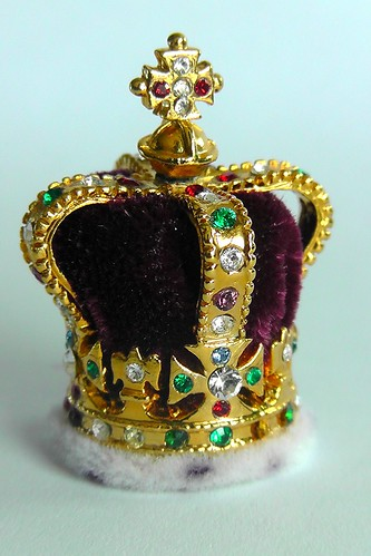 St Edward S Crown Miniature The Crown Jewels In The Tower