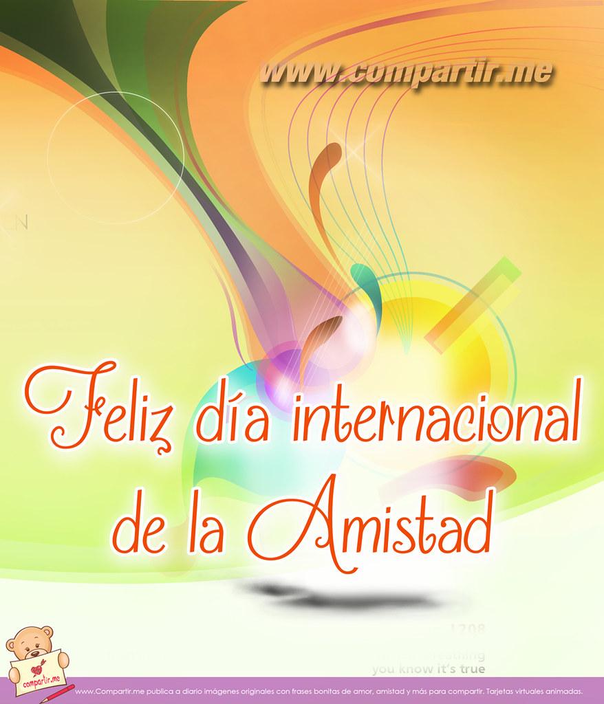 Frases De Amor Postal Por El Dia Internacional De La Amis Flickr
