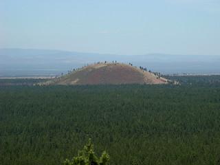 054 Newberry Lava Butte uitzicht