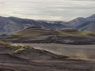 042 Uitzicht bij Bláhylur of Hnausapollur