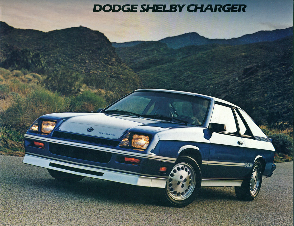 1983 Dodge Shelby Charger Coconv Flickr