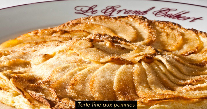best paris food le grand colbert tarte fine aux pommes. Black Bedroom Furniture Sets. Home Design Ideas