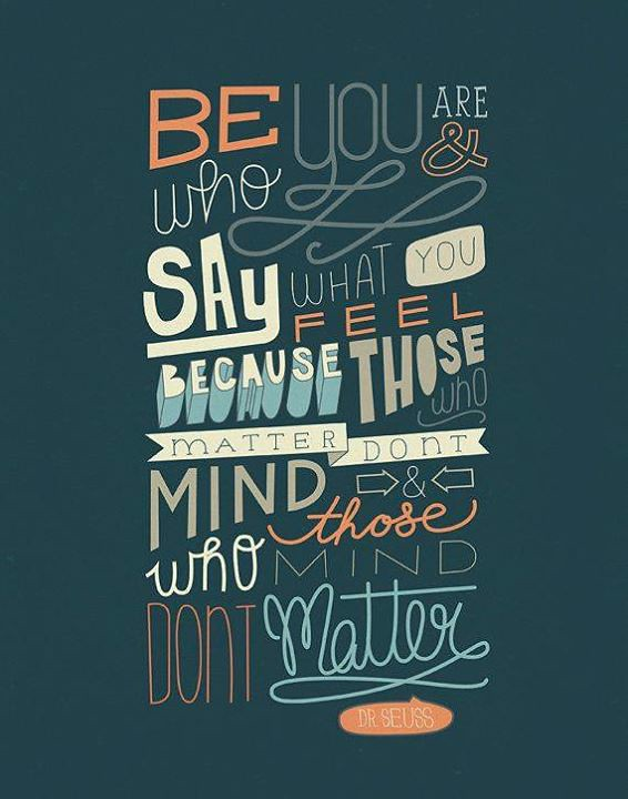 Dr Seuss Quote Typography