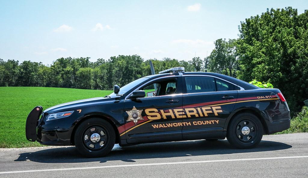 Walworth County, WI Sheriff Ford Police Interceptor Sedan ...