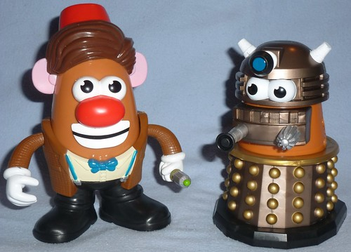 Doctor Who Potato Heads | Mr. Potato Head BBC Doctor Who ...