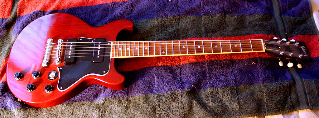 Gibson Les Paul Special Circa 2000 With P90 Single Coils Flickr