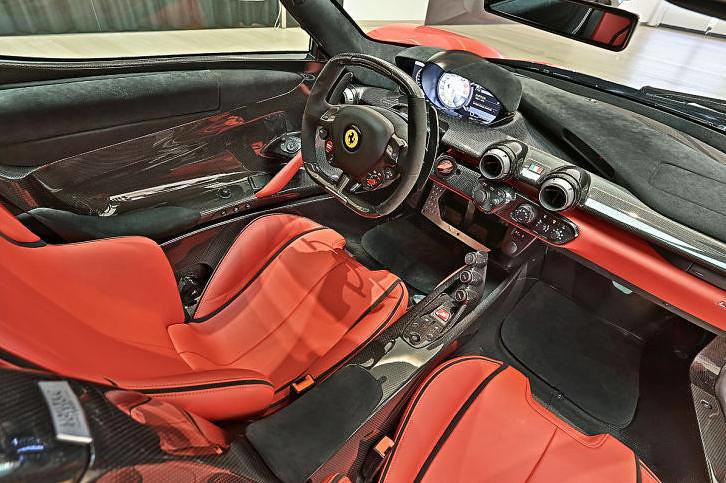 Ferrari Laferrari Cabin And Seats Interior Nicolas
