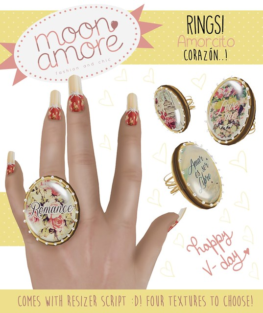 :Moon Amore: Romantic Rings!