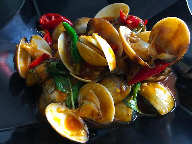 Soi 55 Thai Food - Spicy Clams