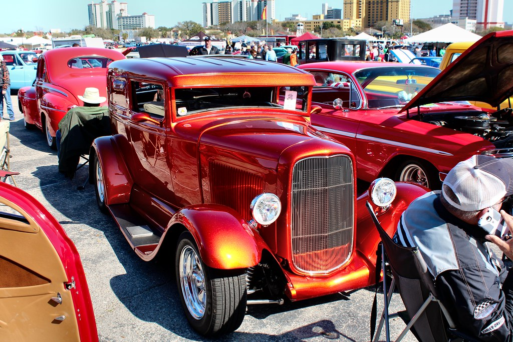 Run To The Sun Car Show Classic Cars And Classic Tr Flickr - Myrtle beach car show