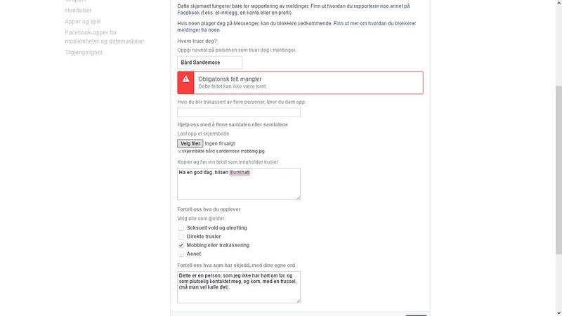 det nye rapporteringssystemet til facebook er ikke helt bra virker det som