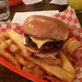 Harry's Charcoal Broil - the burger and fries