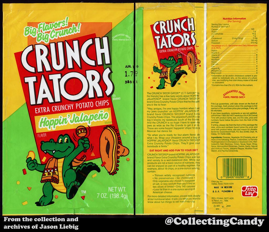 Frito Lay Crunch Tators Hoppin Jalapeno 7oz Snack Chi