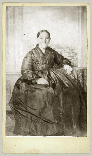 CDV seated woman