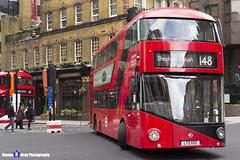 Wrightbus NRM NBFL - LTZ 1122 - LT122 - Shepherd's Bush 148 - RATP London - London 2017 - Steven Gray - IMG_8244