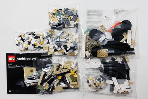 LEGO Architecture Solomon R. Guggenheim Museum (21035)